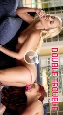 Veronica Ricci & Aaliyah Love in Double Trouble gallery from BABES