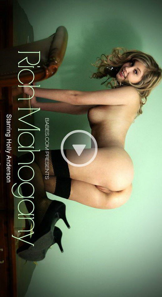 Holly Anderson - `Rich Mahogany` - for BABES