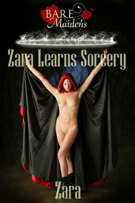 Zara - `Zara Learns Sorcery` - for BARE MAIDENS