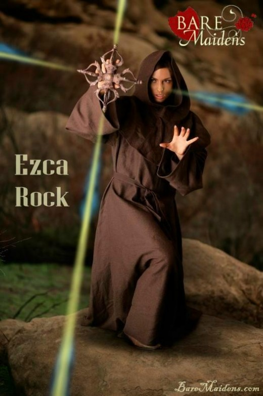 Ezca - `Rock` - for BARE MAIDENS