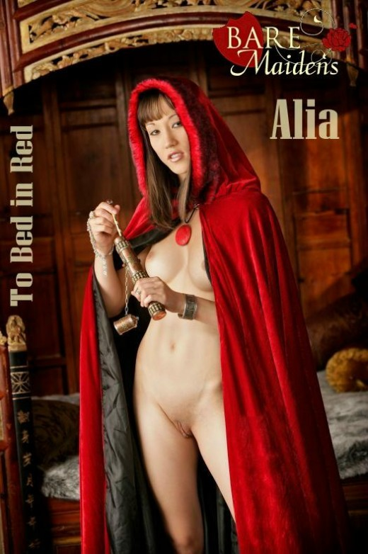 Alia - `To Bed In Red` - for BARE MAIDENS