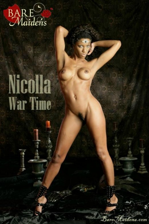 Nicolla - `War Time` - for BARE MAIDENS