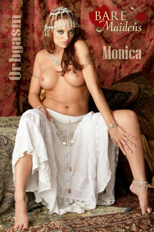 Monica - `Orbgasm` - for BARE MAIDENS