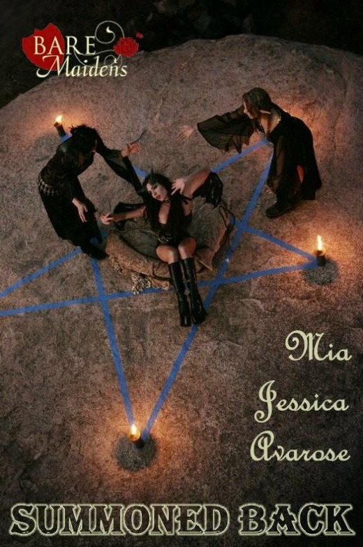 Mia & Jessica & Avarose - `Summoned Back` - for BARE MAIDENS