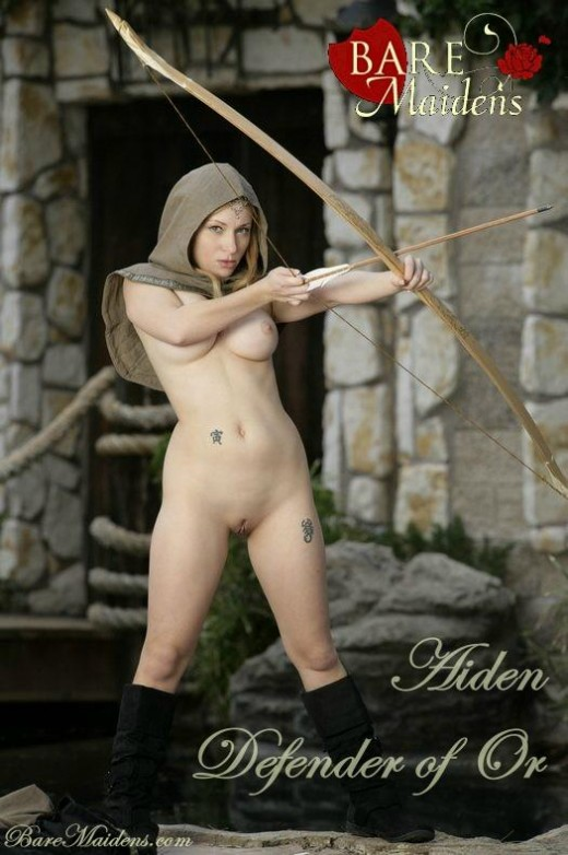 Aiden - `Defender Of Or` - for BARE MAIDENS