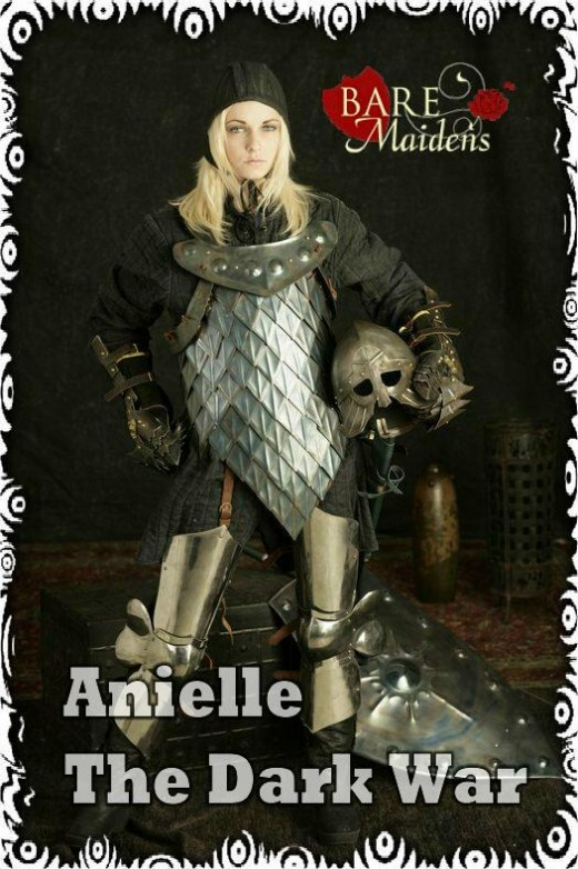 Anielle - `The Dark War` - for BARE MAIDENS