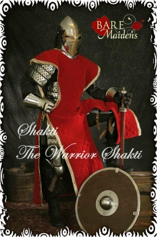Shakti - `The Warrior Shakti` - for BARE MAIDENS