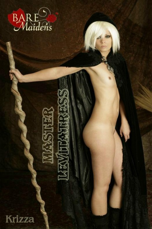 Krizza - `Master Levitatress` - for BARE MAIDENS