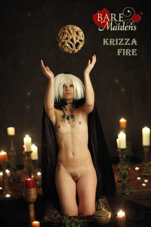 Krizza - `Fire` - for BARE MAIDENS