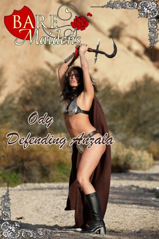 Ody - `Defending Anzala` - for BARE MAIDENS