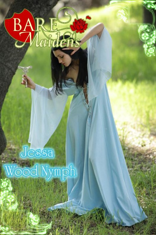 Jessa - `Wood Nymph` - for BARE MAIDENS