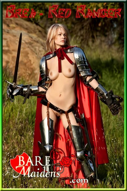 Brea - `Red Ranger` - for BARE MAIDENS