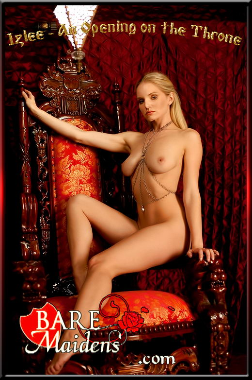 Izlee in An Opening On The Throne gallery from BARE MAIDENS