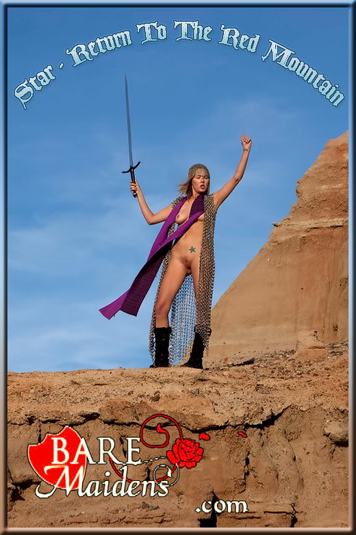 Star - `Return To The Red Mountain` - for BARE MAIDENS
