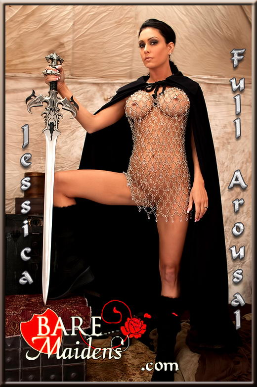 Jessica - `Full Arousal` - for BARE MAIDENS