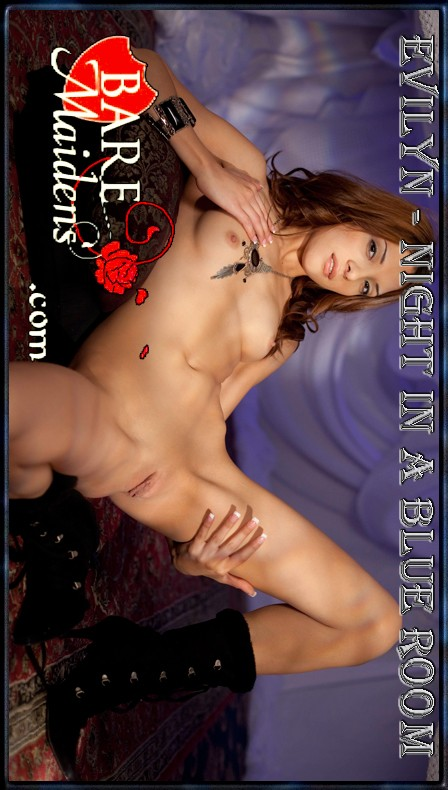 Evilyn - `Night In A Blue Room` - for BARE MAIDENS