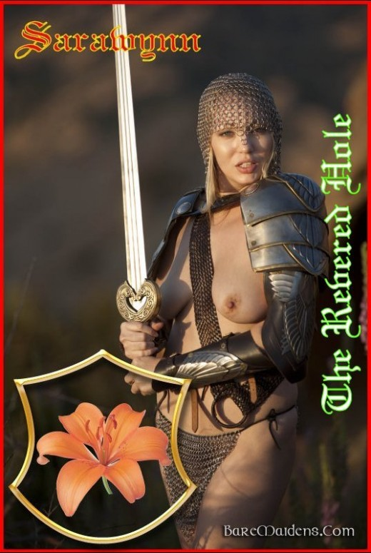 Sarawynn - `The Revered Hole` - for BARE MAIDENS