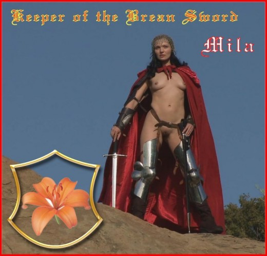 Mila - `Keeper Of The Brean Sword` - for BARE MAIDENS
