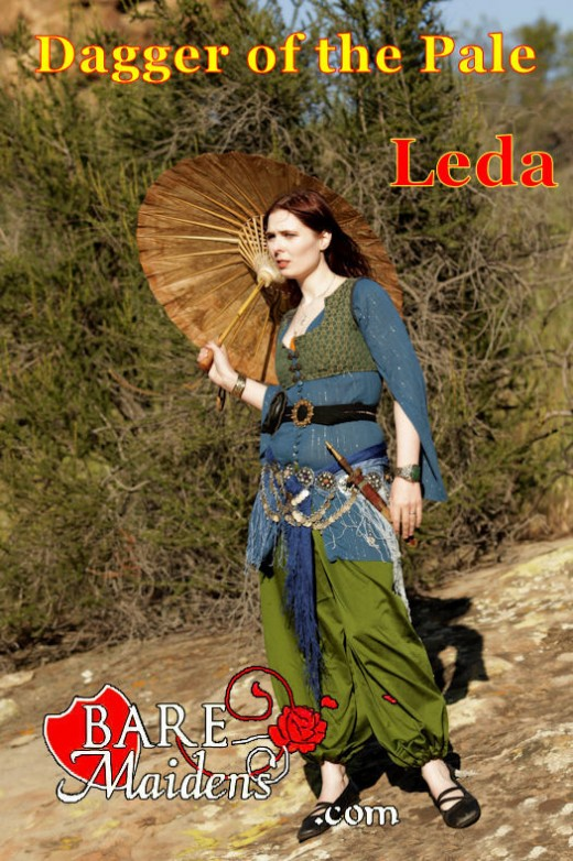 Leda - `Dagger Of The Pale` - for BARE MAIDENS