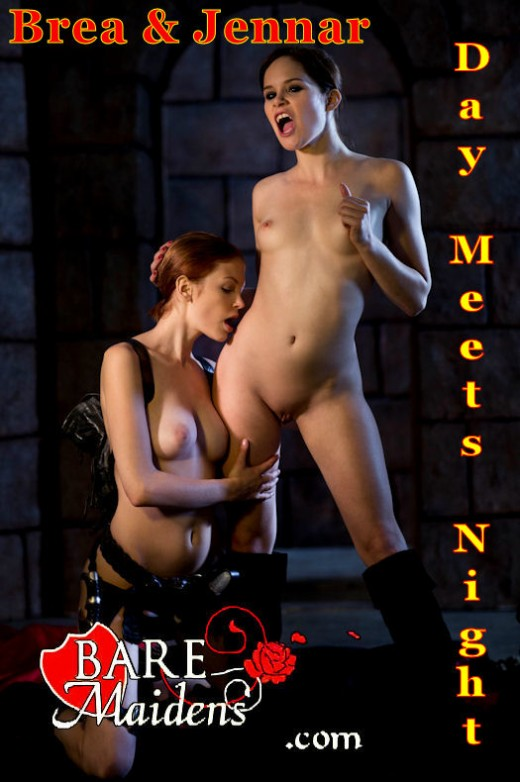 Brea & Jennar - `Day Meets Night` - for BARE MAIDENS