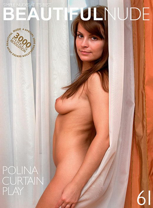 Polina - `Curtain Play` - by Peter Janhans for BEAUTIFULNUDE