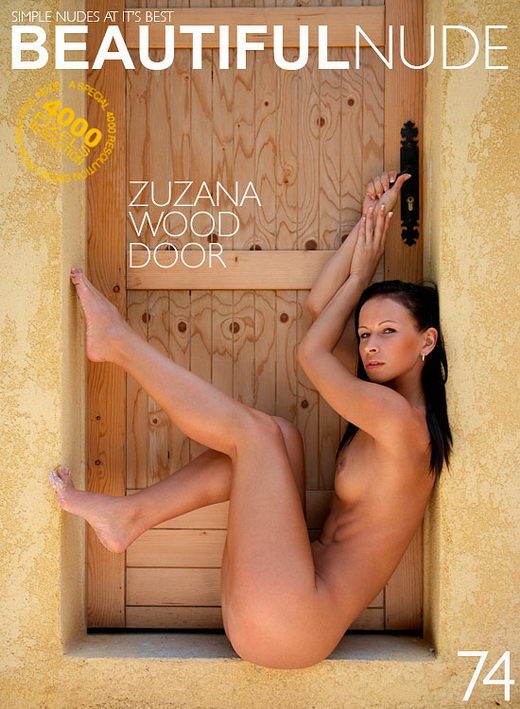 Zuzana - `Wood Door` - by Peter Janhans for BEAUTIFULNUDE