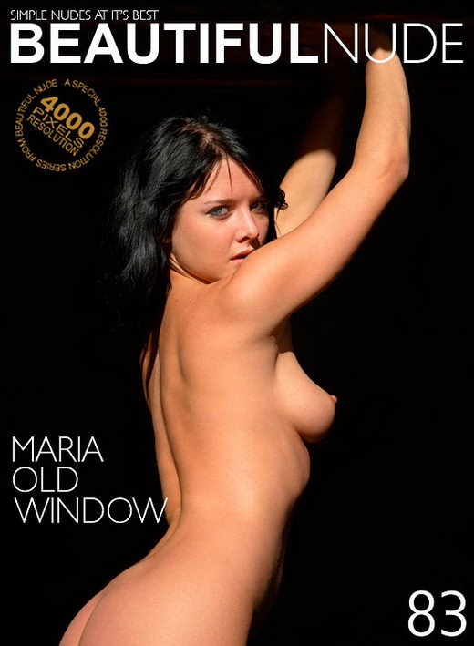 Maria - `Old Window` - by Peter Janhans for BEAUTIFULNUDE