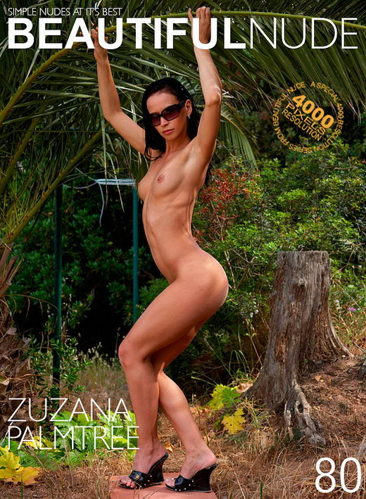 Zuzana - `Palm Tree` - by Peter Janhans for BEAUTIFULNUDE