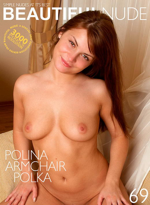 Polina - `Armchair Polka` - by Peter Janhans for BEAUTIFULNUDE