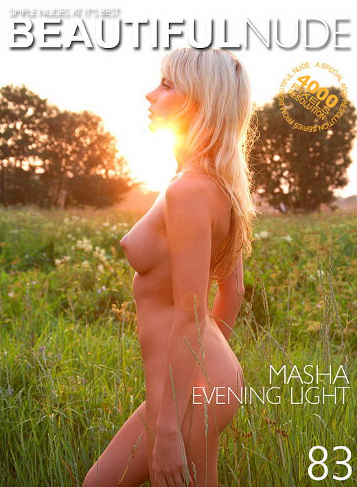 Masha - `Evening Light` - by Peter Janhans for BEAUTIFULNUDE