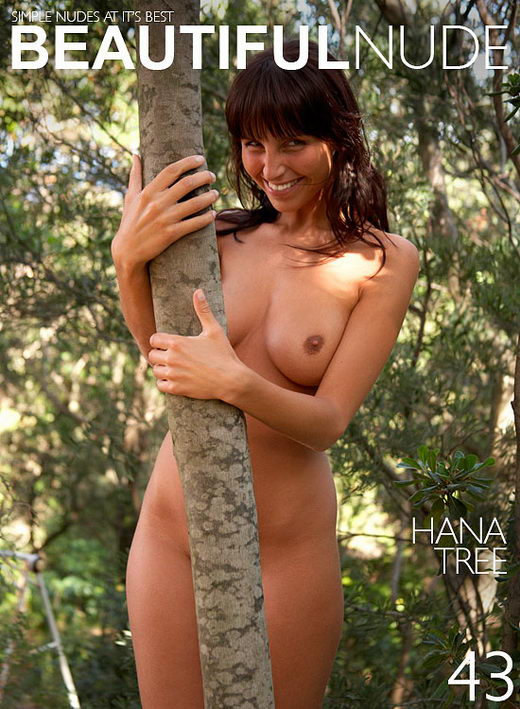 Hana - `Trees` - by Peter Janhans for BEAUTIFULNUDE