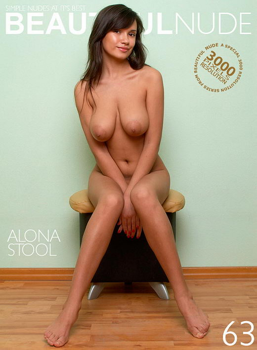 Alona - `Stool` - by Peter Janhans for BEAUTIFULNUDE