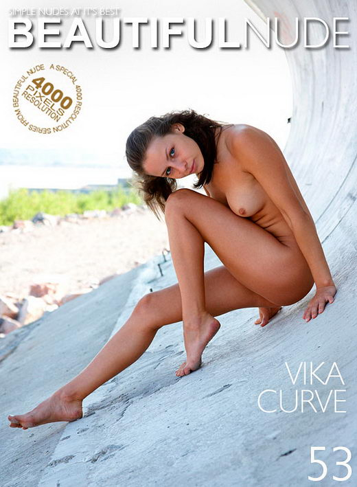 Vika - `Curve` - by Peter Janhans for BEAUTIFULNUDE
