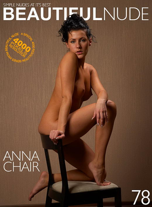 Anna - `Chair` - by Peter Janhans for BEAUTIFULNUDE