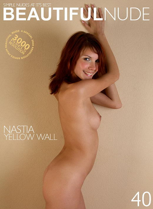 Nastia - `Yellow Wall` - by Peter Janhans for BEAUTIFULNUDE
