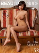 Alona in Striped gallery from BEAUTIFULNUDE by Peter Janhans