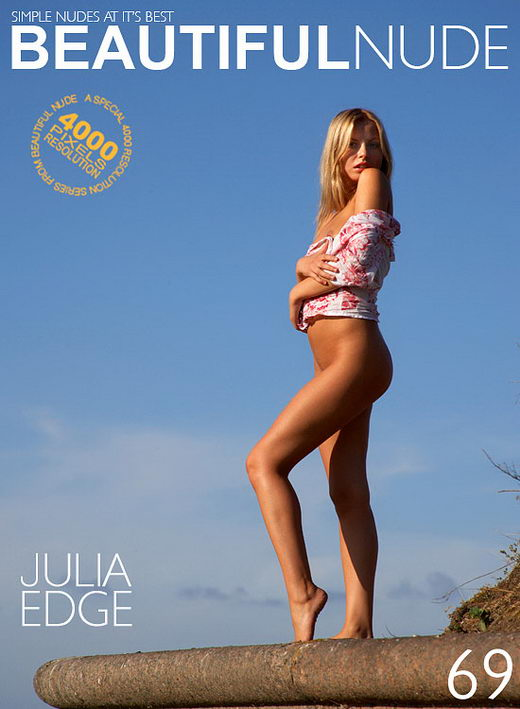 Julia - `Edge` - by Peter Janhans for BEAUTIFULNUDE