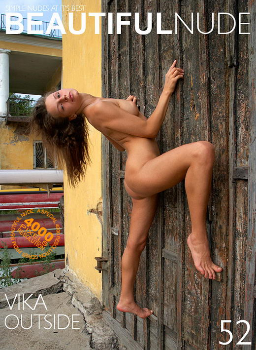 Vika - `Outside` - by Peter Janhans for BEAUTIFULNUDE
