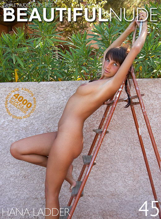 Hana - `Ladder` - by Peter Janhans for BEAUTIFULNUDE