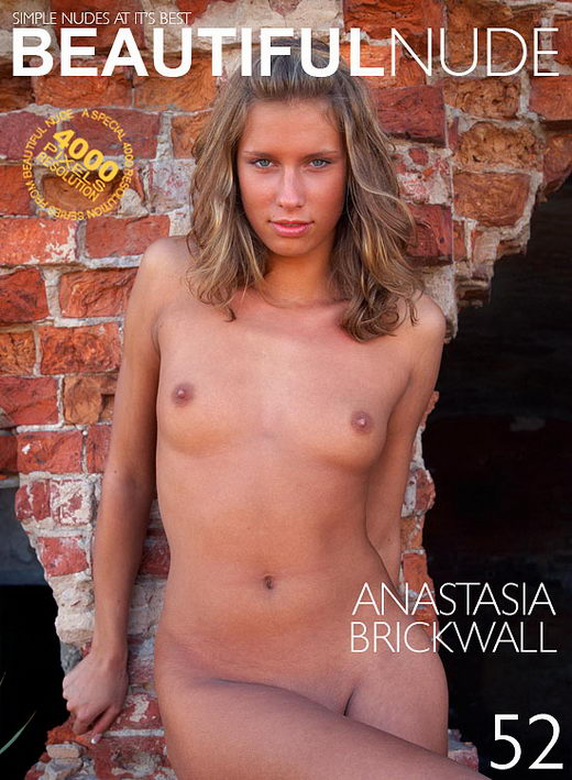 Anastasia - `Brickwall` - by Peter Janhans for BEAUTIFULNUDE