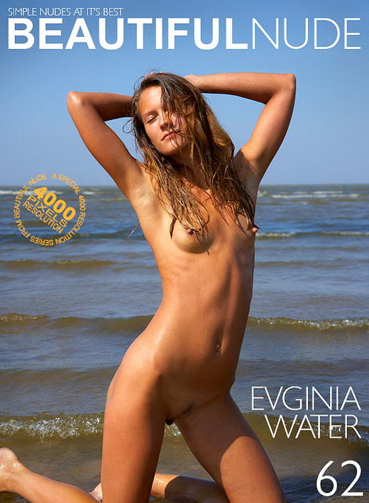 Evginia - `Water` - by Peter Janhans for BEAUTIFULNUDE