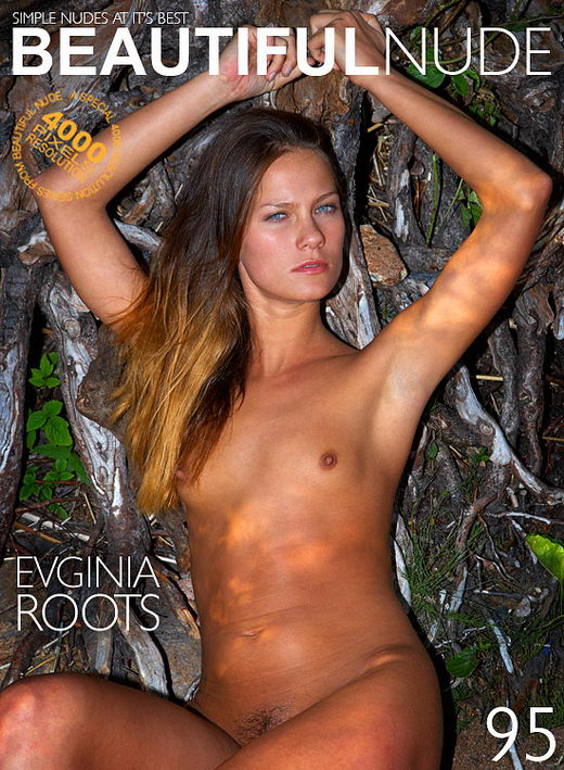 Evginia - `Roots` - by Peter Janhans for BEAUTIFULNUDE