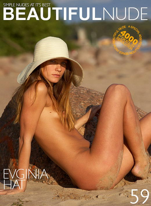 Evginia - `Hat` - by Peter Janhans for BEAUTIFULNUDE