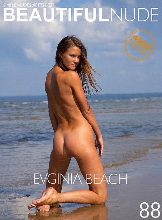 Evginia - `Beach` - by Peter Janhans for BEAUTIFULNUDE