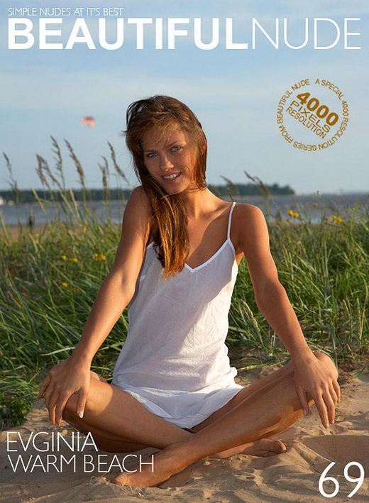 Evginia - `Warm Beach` - by Peter Janhans for BEAUTIFULNUDE
