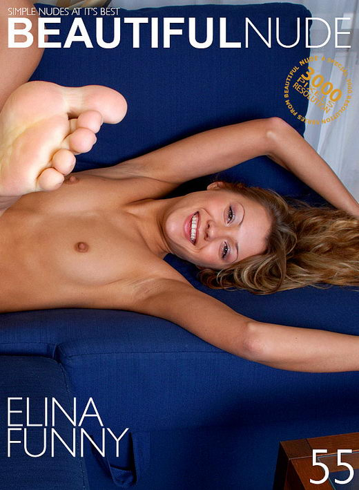 Elina - `Funny` - by Peter Janhans for BEAUTIFULNUDE