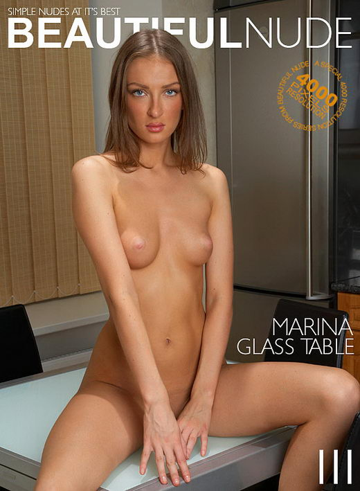 Marina - `Glass Table` - by Peter Janhans for BEAUTIFULNUDE