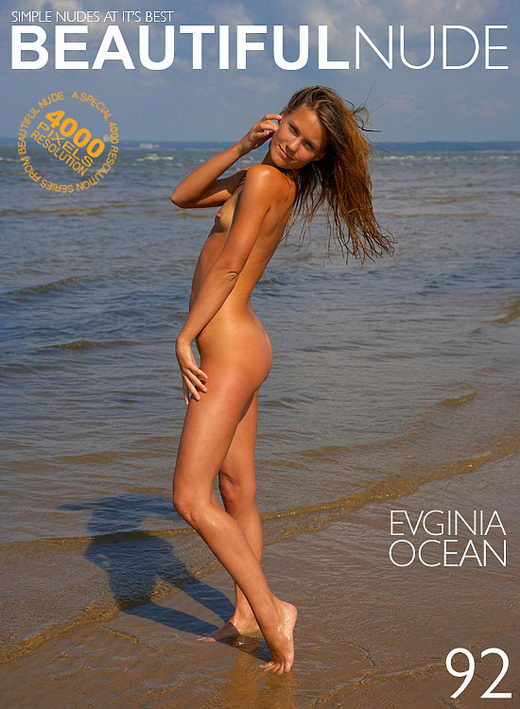 Evginia - `Ocean` - by Peter Janhans for BEAUTIFULNUDE