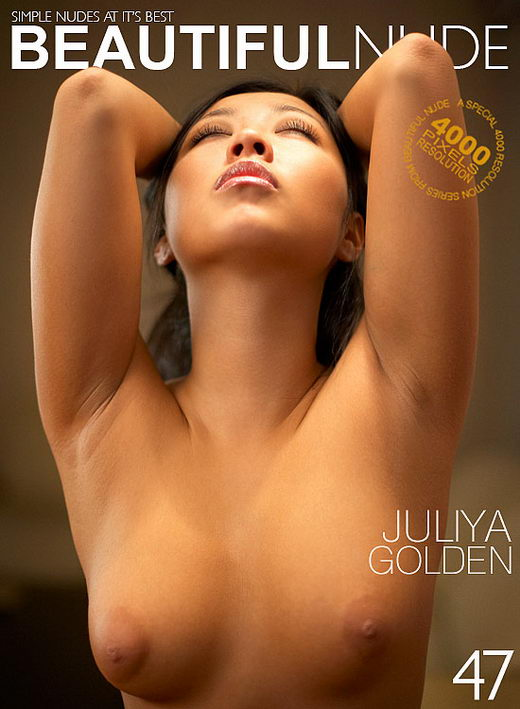 Juliya - `Golden` - by Peter Janhans for BEAUTIFULNUDE