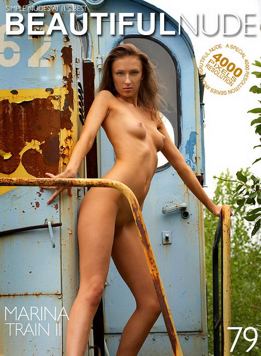 Marina - `Train II` - by Peter Janhans for BEAUTIFULNUDE